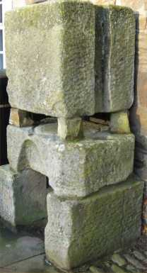 The stone cheese press