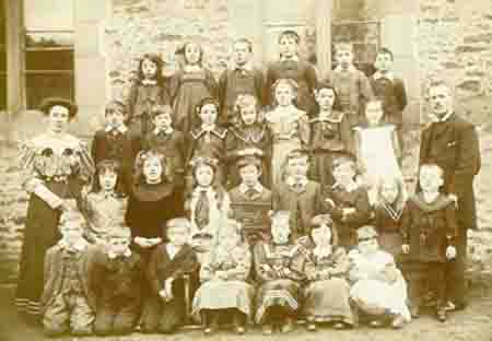 Blanchland class photograph of the early 1900s=