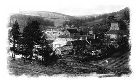 View from the top of the bank c 1915