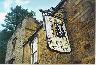 Lord Crewe sign by Colin Smith