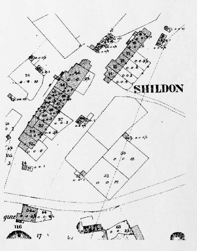 blanchland history Back Alley Abortion this mid 1800s plan shows how many households there were at shildon